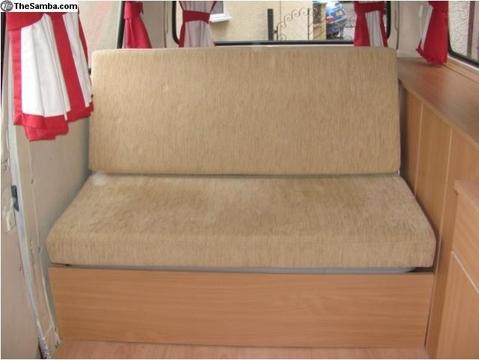 Cama en kombi vw for Sofa cama 1 50 de ancho